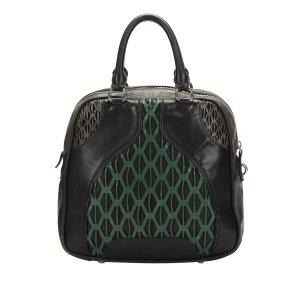 Miu Miu Perforated Leather Handbag