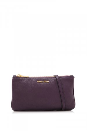 Miu Miu Pgoatskin Madras Small Bag