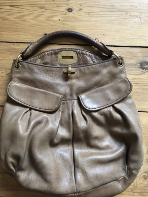 Miu Miu Hobos light brown leather