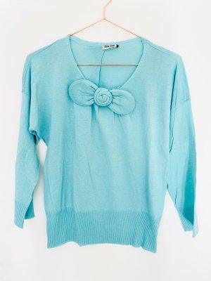 Miu Miu Pullover in cashmere azzurro-celeste Cachemire