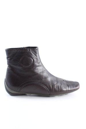 Miu Miu Reißverschluss-Stiefeletten schwarz Casual-Look