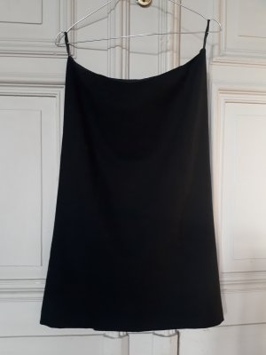 Miu Miu Wool Skirt black wool