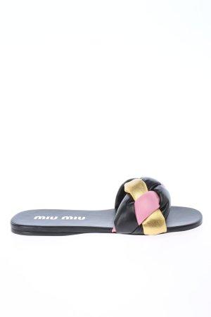 """Miu Miu Sabots """"Padded Flat Sandals"""""""