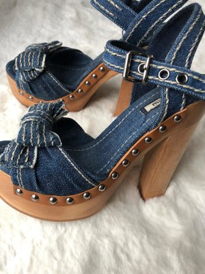 Miu Miu Sandale Jeans