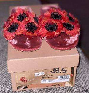Miu Miu Sandalen Blumen Gr. 39,5 (40) NP 575€