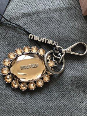 Miu Miu Key Chain gold-colored-bronze-colored