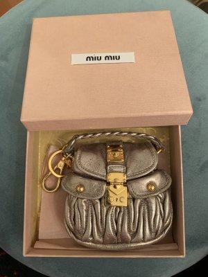 Miu Miu Key Chain gold-colored