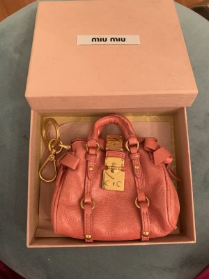 Miu Miu Key Chain pink