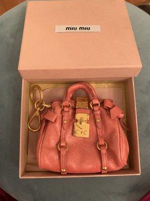 Miu Miu Schlüsselanhänger pink