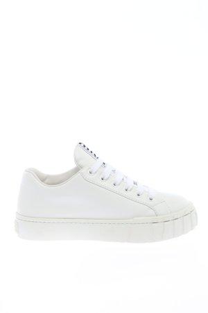 "Miu Miu Schnürsneaker ""Low Top Sneakers"" weiß"