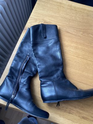 MiuMiu Riding Boots black