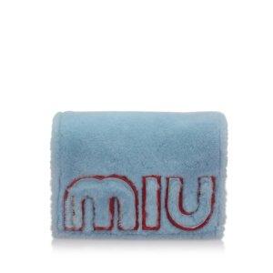 Miu Miu Shearling Crossbody Bag