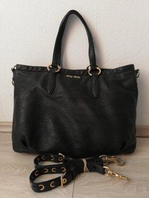 Miu Miu Shopper black