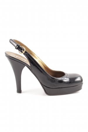 Miu Miu Slingback Pumps black business style