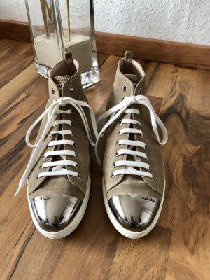Miu Miu Sneakers met veters veelkleurig