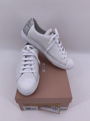 Miu Miu Sneaker Leder Neu Große-41