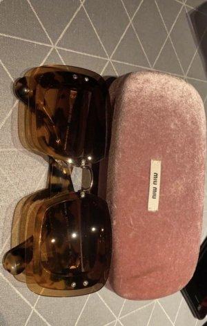 Miu Miu Kwadratowe okulary przeciwsłoneczne Wielokolorowy
