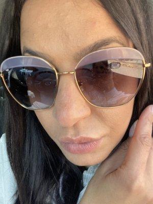 Miu Miu Occhiale a farfalla oro-viola-grigio