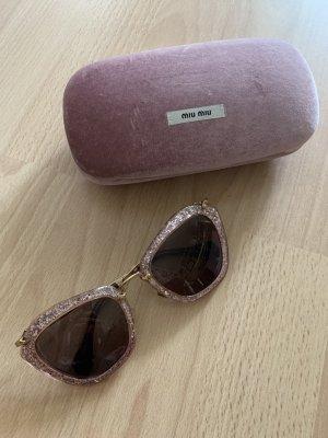 Miu Miu Gafas Retro rosa-rosa