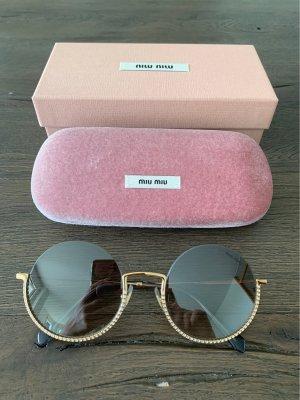 MIU MIU Sonnenbrille, Grau/Gold, neu!!