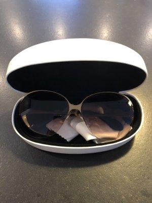 Miu miu Sonnenbrille groß rosé Gold