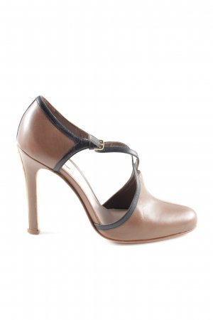 Miu Miu Spitz-Pumps braun Business-Look