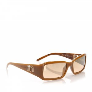 Miu Miu Square Tinted Sunglasses