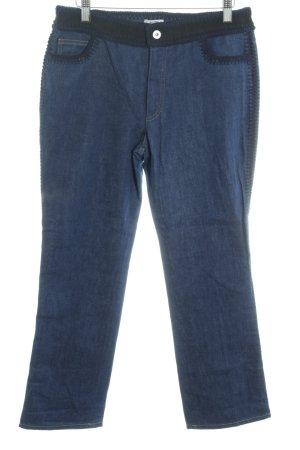 Miu Miu Straight-Leg Jeans blau Casual-Look