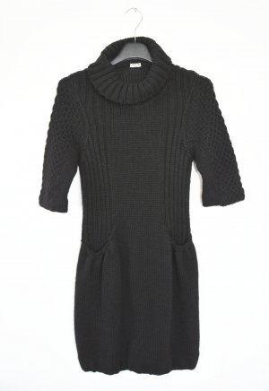 MIU MIU Strickkleid Wollkleid Kleid Wolle Gr. IT 44 D 38 Rollkragen