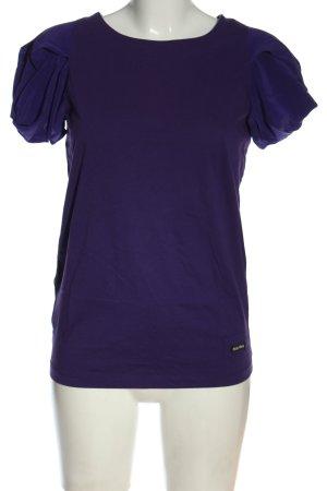Miu Miu T-shirt lilla stile casual