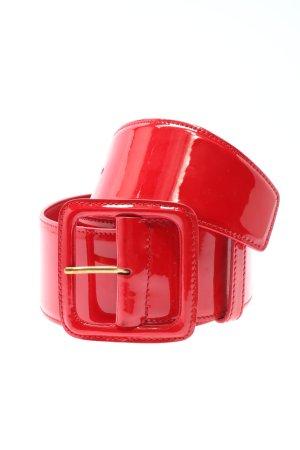 Miu Miu Cinturón pélvico rojo elegante
