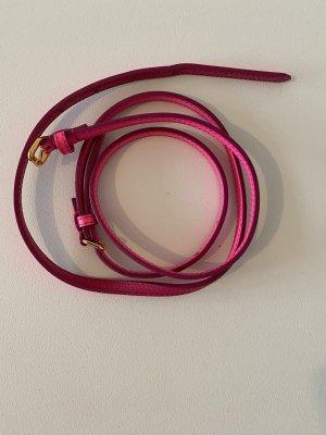 Miu Miu Cintura vita rosso neon