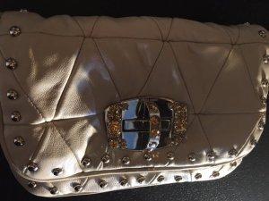 Miu Miu Tasche Clutch Creme Leder