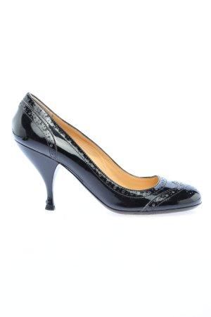 Miu Miu Loafers zwart zakelijke stijl