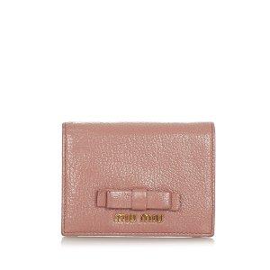Miu Miu Vara Leather Small Wallet