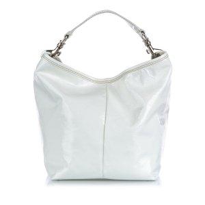 Miu Miu Sac porté épaule blanc faux cuir