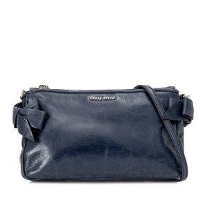 Miu Miu Vitello Lux Crossbody Bag