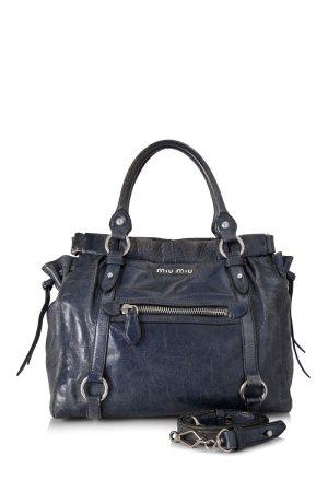Miu Miu Vitello Lux Shopping Bag