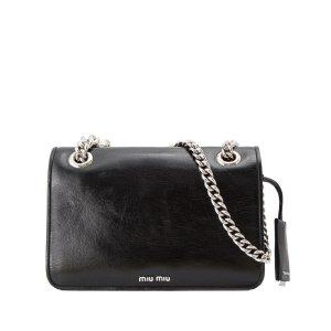 Miu Miu Vitello Shine Club Shoulder Bag