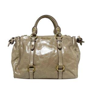 Miu Miu Satchel beige leather