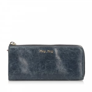 Miu Miu Vitello Shine Wallet