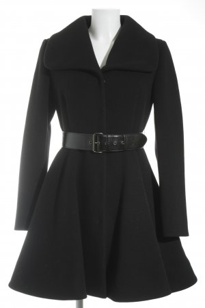Miu Miu Wintermantel schwarz Business-Look