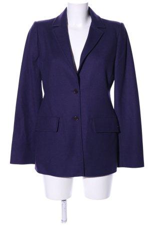 Miu Miu Woll-Blazer blau Business-Look