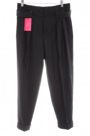 Miu Miu Wollhose schwarz Business-Look