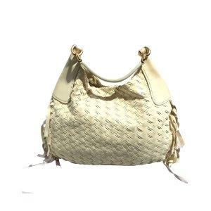Miu Miu Hobos white leather