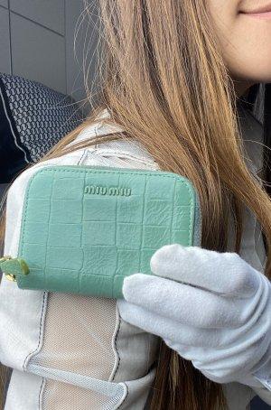 Miu Miu Wallet green