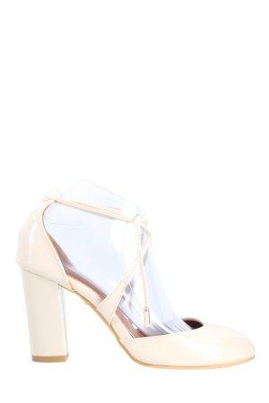 Miulamiula High Heel Sandaletten creme Business-Look