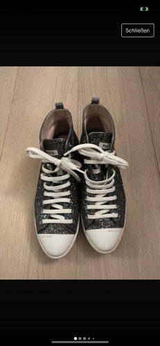 MiuMiu Zapatillas altas gris oscuro