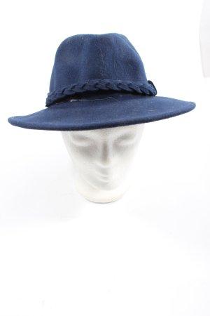 MiuMiu Felt Hat blue elegant