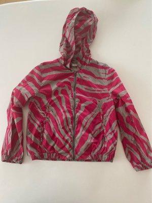 MIUMIU windbreaker parka pink X gray nylon * capsule Edition*